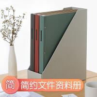 日本国誉(KOKUYO)一米新纯系列资料册复古风文件夹20页透明内袋档案夹大容量PP封面厚背