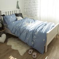 床单被罩枕套三件套单人床学校宿舍大学生寝室床上用品0.9米1.0m
