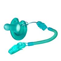 安抚奶嘴链宝宝玩具牙胶防掉链外出便携新生婴儿安抚奶嘴防掉链夹