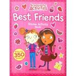 英文原版 Best Friends Sticker Activity Book 好朋友贴纸活动书 含350个贴纸 儿童