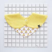 口水巾婴儿三角巾男女宝宝围嘴围兜新生儿围兜2岁