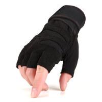 半指男健身房哑铃举重器械力量训练格斗防滑耐磨护腕护掌运动手套