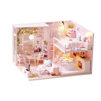 �和�玩具女孩子小朋友公主生日�Y物7-9 10 12�q�^家家手工娃娃屋