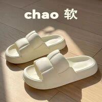 【1件3折】泰蜜熊情侣款棉拖鞋女新款室内冬季加绒毛拖情侣家居家用冬天