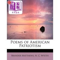 【中商海外直订】Poems of American Patriotism