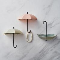 雨伞挂钩门后玄关装饰品童装服装店衣帽间墙面墙上实用室内小挂件