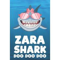 【预订】Zara - Shark Doo Doo Doo: Blank Ruled Personalized & Cu