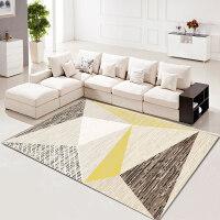 几何图案北欧沙发地毯客厅简约现代茶几毯卧室床边地垫定制可机洗y