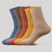 袜子男士袜中筒袜吸汗潮流韩版运动复古秋冬加厚保暖