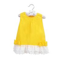 婴儿棉吊带裙夏季裙子宝宝薄款公主裙女童背心连衣裙