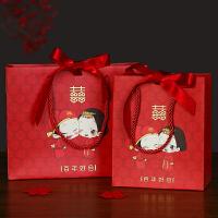 婚庆用品喜糖盒子创意结婚礼物包装盒喜糖袋礼品袋婚礼手提袋