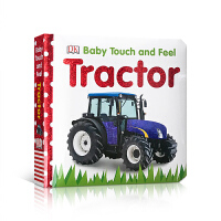 英文原版 Baby Touch and Feel: Tractor 拖拉机