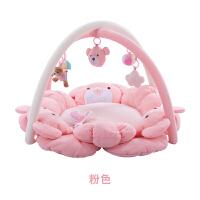 满月礼物婴儿音乐健身架0-18月游戏毯新生儿用品四季c