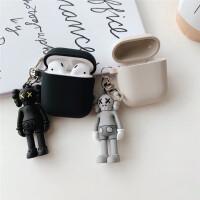 kaws公仔华为耳机套保护套潮牌1.2代保护壳无线创意可爱