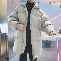 【秋冬新品】高端品牌男士冬季外套韩版潮流中长款面包潮牌帅气加厚情侣装百搭棉衣