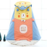 婴儿抱被包被春秋冬四季厚款可脱胆用品棉初生被子宝宝