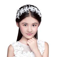儿童发饰水晶花朵发饰发箍花童头饰六一女童影楼头饰礼服头饰