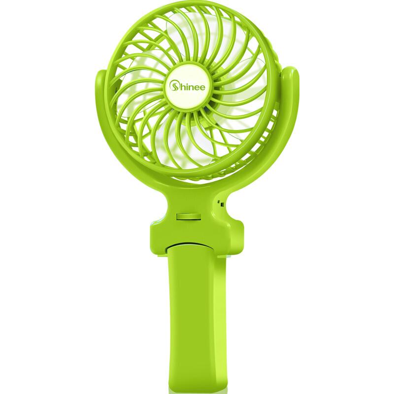 赛亿FSC-01蓝色绿色USB mini手持电风扇 赛亿USB小风扇