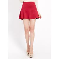 【1件3折到手价:7.5】美特斯邦威女装质感半裙258038