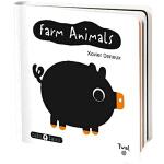 英文原版 Farm Animals Baby Basics 纸板操作书 艺术大师 Xavier Deneux 儿童启蒙