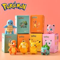 庄臣宝可梦超梦宠物变形蛋公仔皮卡丘玩具机器人神奇宝贝全套喷火龙小精灵球妙蛙