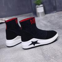 嘻哈女鞋子2018秋季新款韩版ulzzang原宿高中学生街舞高帮运动鞋