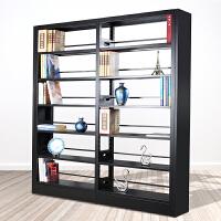 图书馆书架 钢制书架铁皮档案架学校图书馆专用书架阅览室书籍室图书架货架
