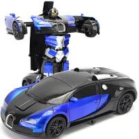 儿童遥控汽车玩具无线遥控车金刚充电动玩具车男孩感应变形机器人