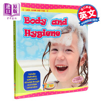 【中商原版】Look, Learn Talk Series:Body and hygiene 123看学说百科身体卫生