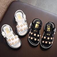 女童凉鞋夏季小女孩儿童公主鞋中小童宝宝沙滩鞋