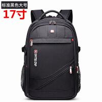 男士双肩包女士迷彩多功能背包17寸电脑包书包大容量旅行包