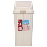 [当当自营]顺美 12L垃圾桶 欧式翻盖卫生桶 SM-2606