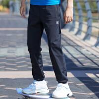 【到手价:90元】探路者儿童童裤 春夏新款男童户外休闲大童跑步运动长裤QAMG83085