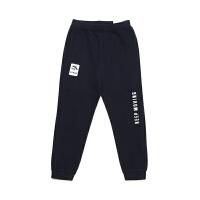 【3折价77.7】安踏童装男童针织长裤儿童运动裤休闲裤子35917778