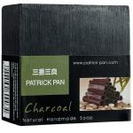 [当当自营]三番三良PATRICK PAN 竹炭手工洁面皂-100g 深层清洁毛孔 控油去黑头 温和细腻不伤肤 滋润保