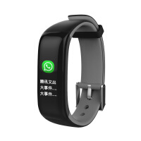 新款防水血压心率运动计步 P1Plus智能手环彩屏