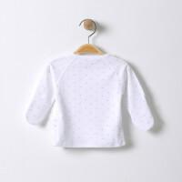 婴儿上衣春秋装冬季0-绑带3薄款6个月男女宝宝秋衣新生儿衣服