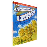 英文进口原版 So You Want to Be President 你想当总统吗?【精装】