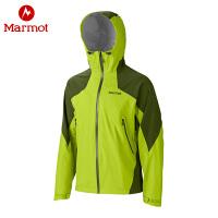 Marmot/土拨鼠连帽冲锋衣新品男款户外运动防水透气防风保暖