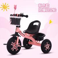 三轮车脚踏车1-3-2-6周岁简易轻便小孩手推车宝宝单车自行车
