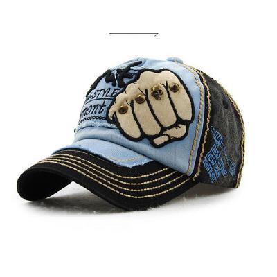 男女士帽子圆顶棒球帽牛仔布时尚户外遮阳休闲街头鸭舌帽