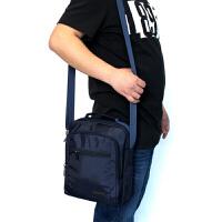 新款男士包包防水牛津帆布单肩斜跨包手提休闲背包商务通勤包