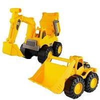 小孩子的玩具车 挖土机玩具车男孩儿童车大型小孩子大号超大小号工程挖机迷你塑料