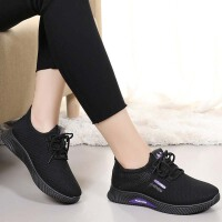 冬季老北京布鞋女棉鞋加绒加厚平底运动休闲鞋百搭保暖妈妈鞋