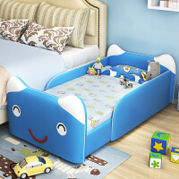 婴儿床多功能拼接大床男女孩实木床宝宝小孩床边床加宽组合带护栏