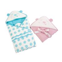 厚款棉保暖抱毯出生婴儿包被春秋冬抱被儿童小被子小孩