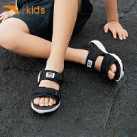 【满400-80】安踏儿童凉鞋男童沙滩鞋2019新款夏季中大童鞋子学生官网儿童凉鞋