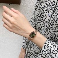 复古文艺手表女学生韩版简约ins冷淡风森女系方形石英腕表