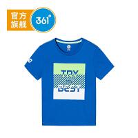 【大牌日抢购价:45】361°361度童装 男童T恤2021年夏季新品中大童短袖上衣K51923201