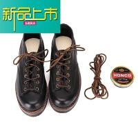 新品上市的马丁靴男低帮 英伦男鞋冬季潮鞋18新款工装靴男码 黑色